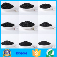Raw materials carbon activated filters/adsorbent for water treatment