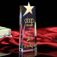 New Designed Crystal Award K9 Crystal Trophy Cup