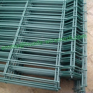Welded mesh fence panel / fencing Nylofor 3D/metal fence panels