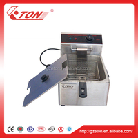 Household Deep Fryer 110v Machine 5.5 Liter Capacity Single Tank Design