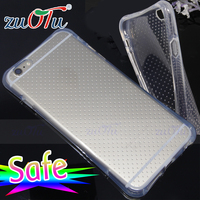 Resistance Transparent Soft TPU Cover Clear Case For iPhone 6 Plus