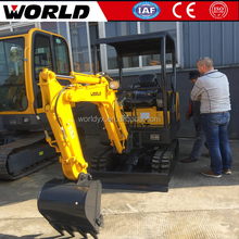 China made earth moving equipment CE approved 1.8 ton excavator mini