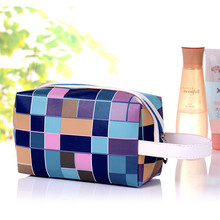men travel cosmetic bag makeup case pouch toiletry with handle