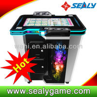 Coin Operated Machine 2014 Hotest Music Marbles Music Flat 2P music screen touch game machine