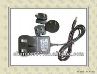 Interchangeable Plug 12V 0.5A Power Adapter
