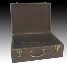 leather trunk for home and office use ,to collect everything .