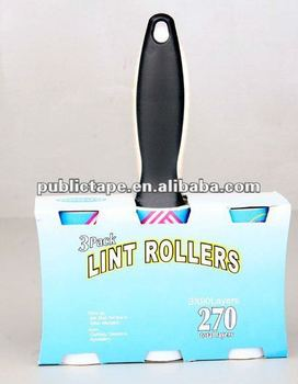 Lint roller brush