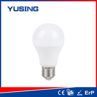 New style Plastic/ Plastic+Alu 110-240v 400-500lm e27 LED light bulb led bulb a60 plastic aquarius