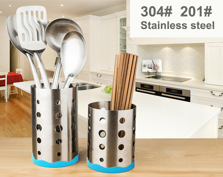 Metal kitchenware cutlery table chopsticks holder