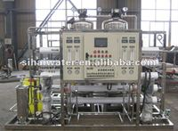 1000LPH double stage RO mobile water treatment plant, pure water for drinking and industry use