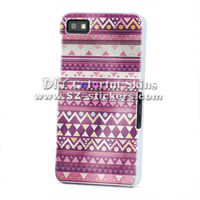 Aztec design for blackberry bb curve z10 case cover