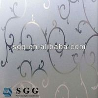 High Quality Glass Green Frosted