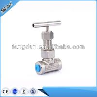 Parker style union bonnet needle valve