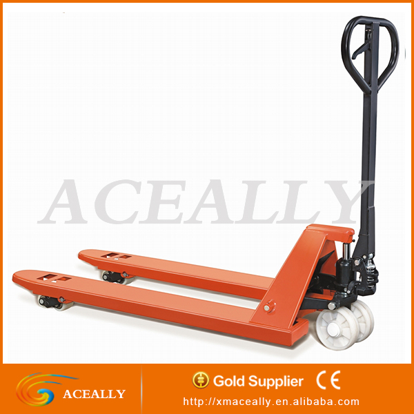 2017 new cheap China 2.5/5 ton CE hydraulic pump hand pallet truck jack
