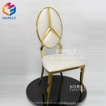 feast rose gold black white metal modern design hotel banquet wedding wholesale stainless steel dining chair