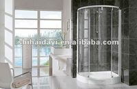 curved sliding shower screens