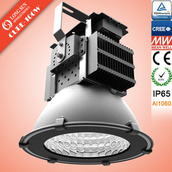 100W super power led high bay light fixtures in shenzhen