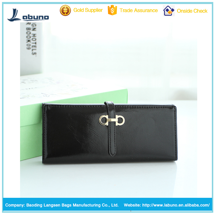 factory wholesale colorful fashion multifunction PU leather women wallet