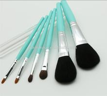 Mint color handle make up brush