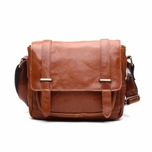 OA Crossbody Genuine Leather Messenger Bag for Men