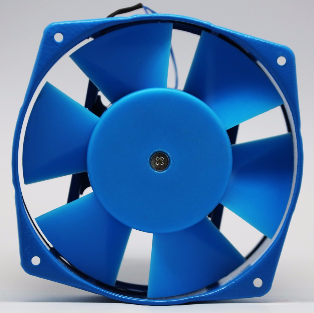 Nylon blade heat resistance impedance protected cooling fan 220v ac 150mm