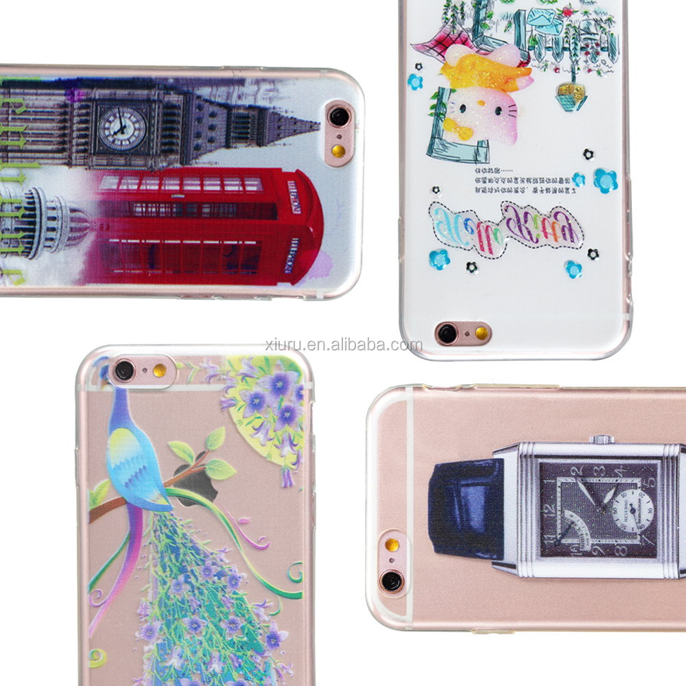 Colorful cell phone case for smart phone factory supplier tpu case for mobile phone