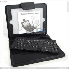 Removable Bluetooth Keyboard Leather Case for The New iPad P-iPAD3CASE013