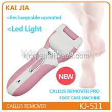 Portable electric foot callus removal tool feet dry skin cleaner