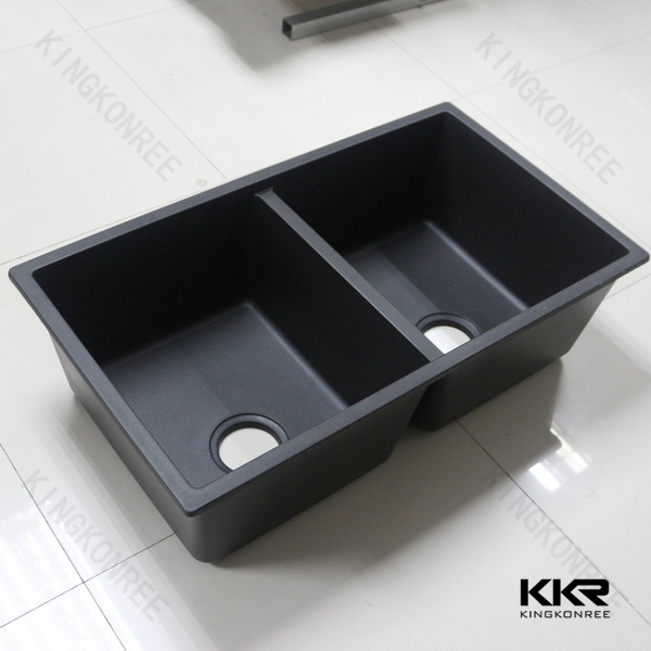 quartz kitchen sink / solid suface kitchen sinks China wholesale