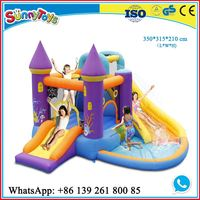 Inflatable floating air mattress inflatable football arena playground for play park