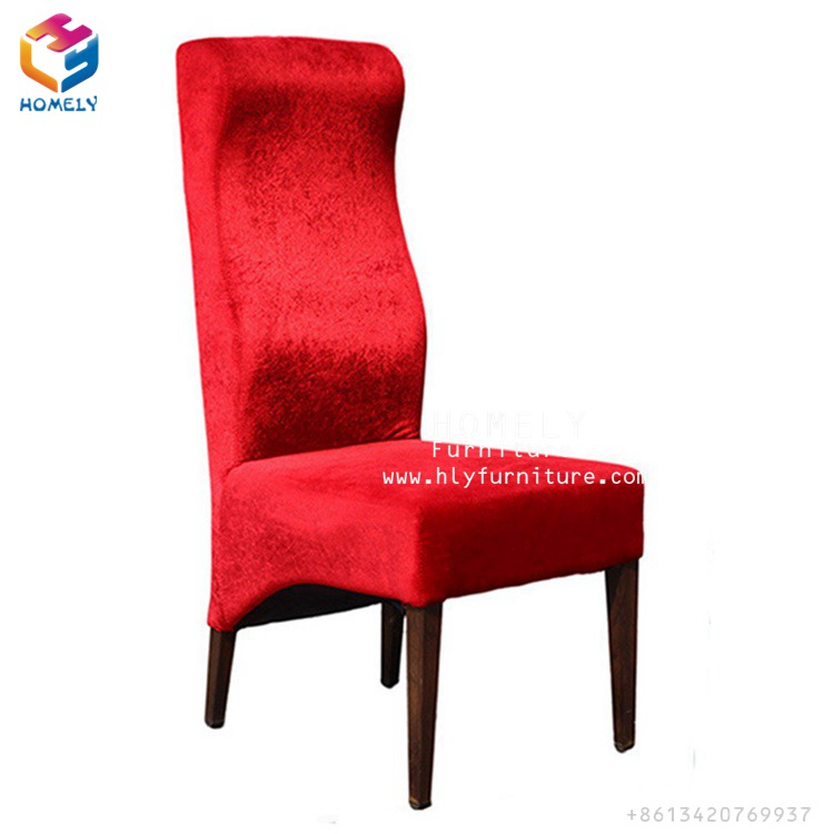 Modern luxury restaurant wood imitated dining chair restaurant chairs