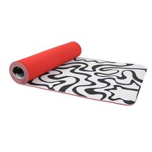 TPE eco friendly fitness yoga mat with carrying strap