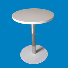 high quality dinning solid surface tables,artificial stone dinning table,solid surface stone white acrylic round table top