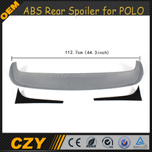 ABS Car Rear Tail llip wing Trunk Spoiler for POLO GTI R 11-15