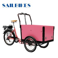 family cargo tricycle bike