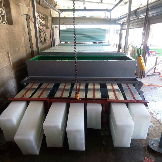 CE certification commercial ice block making machine in pakistan from factory