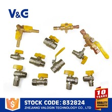 10000 Times Long Life Butterfly Handle 4 inch ball valve
