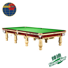 12ft Shender Prince Snooker Table IBSF Tournament Tables Billiard Tables Star