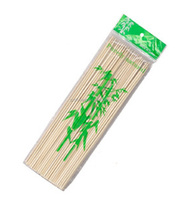 round bamboo sticks barbecue skewers