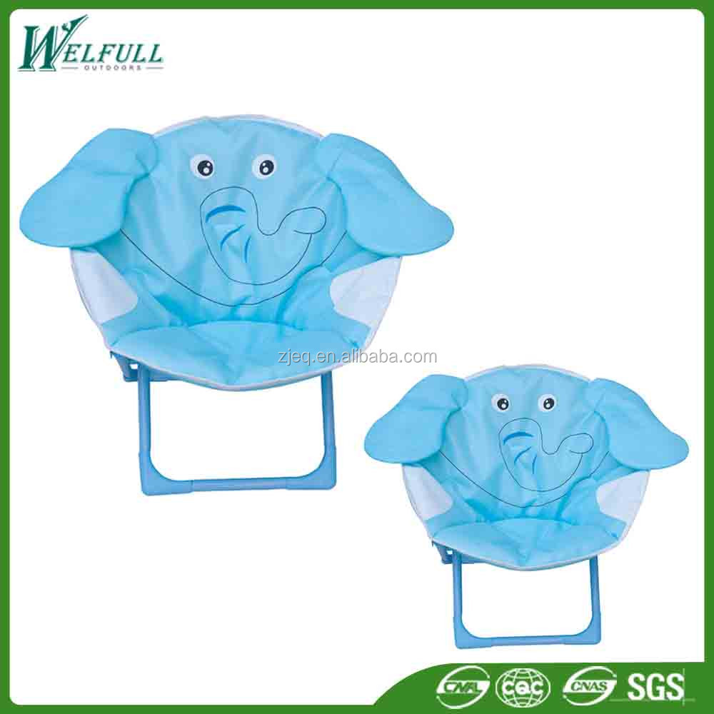 Kids Furniture Cheap Cartoon Camping Moon Chair for Child