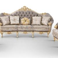 Fabric Design Living Room Furniture Luxury