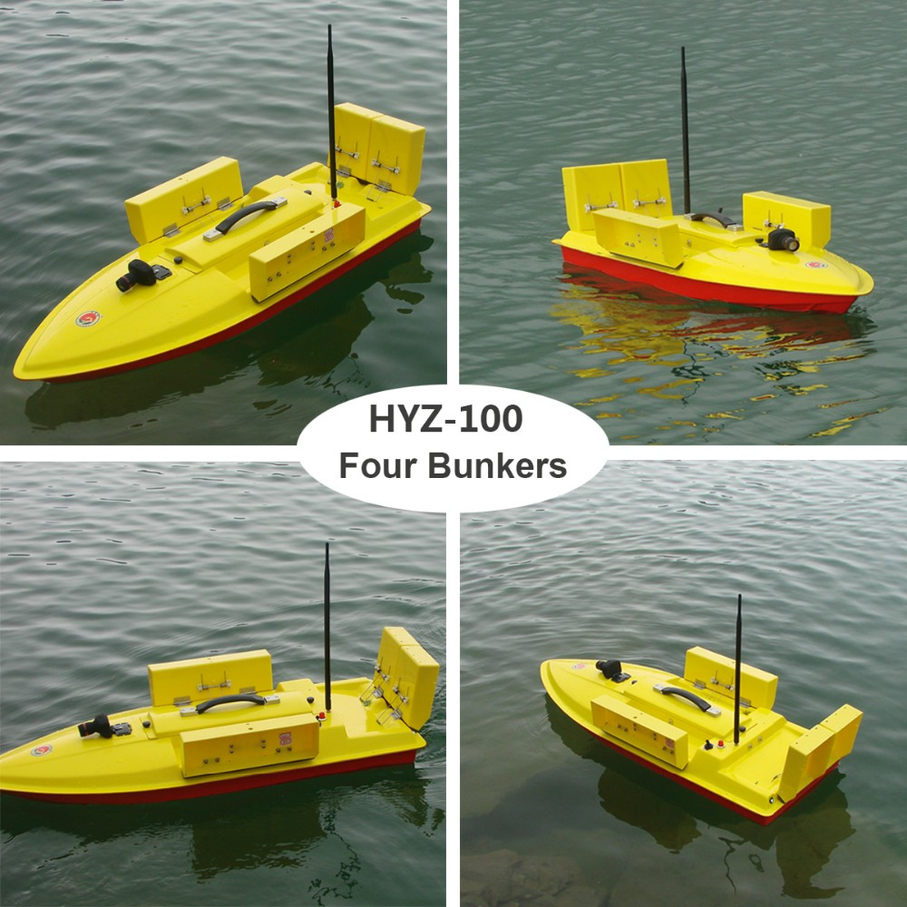 Hyz 100 hyz baitboat rc boat fishing bait buy fishing for Rc boat fishing