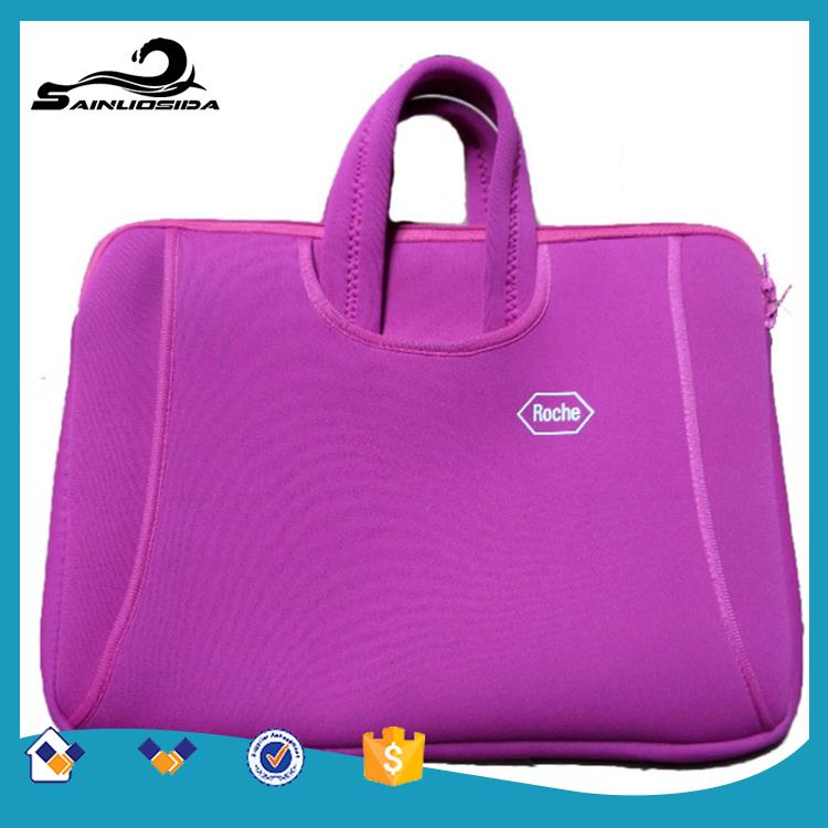 Hot selling black shoulder strap computer bag with great price