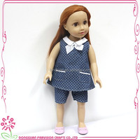 China factory make vinyl dolls american girl doll factory