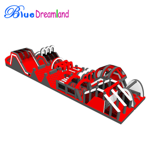 Shopping center Outdoor Toys & Structures ibest inflatable obstacle course rental for adults