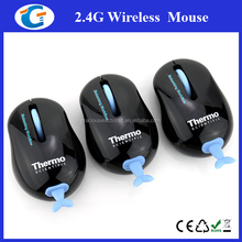 Novelty gifts 2.4g computer optical wireless cute animal tail mouse