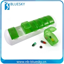 Promotional top quality pill case 7 days