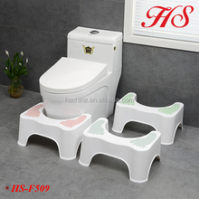 New Design Healthy Life adult toilet step stool toilet stool squatty potty