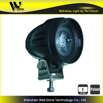 "mini LED lighting, 10W, 2"" mini ATV LED driving light"