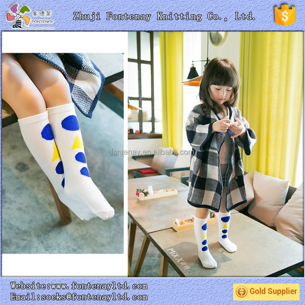 Child girl japan kids trampoline cozy cotton sex girls knee high sock